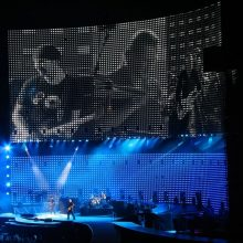 6890621 - amsterdam, netherlands - july 13: u2 in concert in the amserdam arena  july 13, 2005 in amsterdam, netherlands.